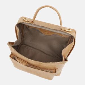 Функциональная бежевая женская сумка ATS-5423 237891