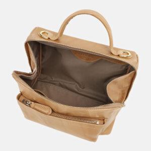 Функциональная бежевая женская сумка ATS-5425 237881