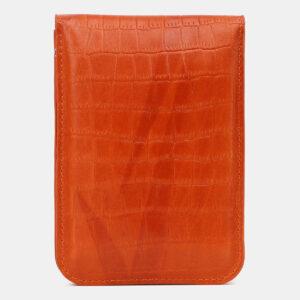 Удобный оранжевый женский клатч ATS-5440 237941