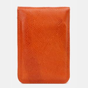 Вместительный оранжевый женский клатч ATS-5441 237936