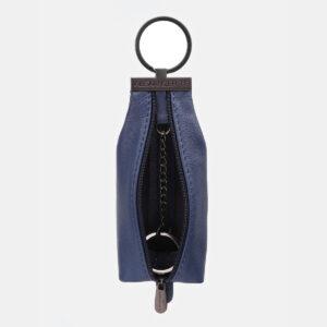 Кожаная синяя ключница ATS-5445 237919