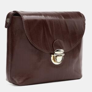 Уникальный коричневый женский клатч ATS-3782 237808