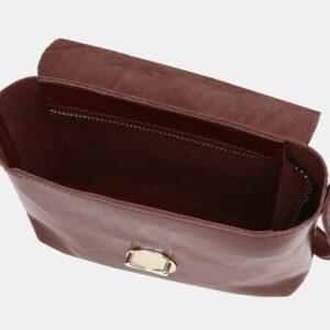 Уникальный коричневый женский клатч ATS-3782 237810