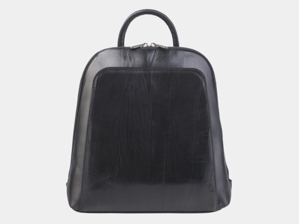 Неповторимый черный рюкзак кожаный ATS-2423