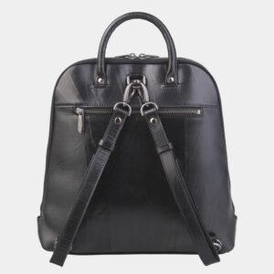 Неповторимый черный рюкзак кожаный ATS-2423 238056