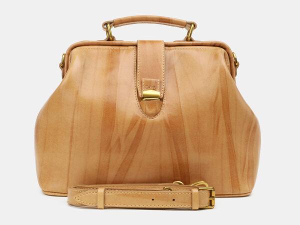 Деловая бежевая женская сумка ATS-5448