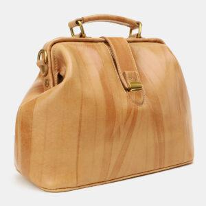 Деловая бежевая женская сумка ATS-5448 237955