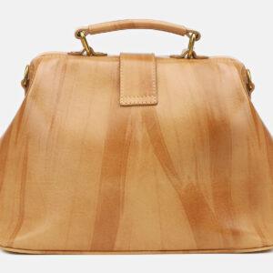 Деловая бежевая женская сумка ATS-5448 237956
