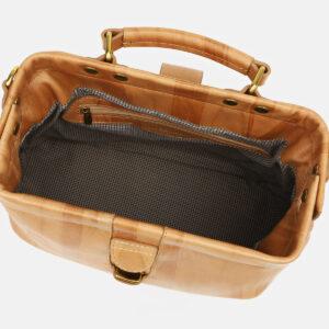 Деловая бежевая женская сумка ATS-5448 237957