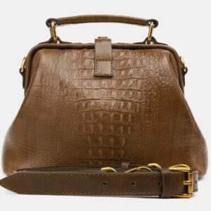 Удобная желтовато-зелёная женская сумка ATS-5451