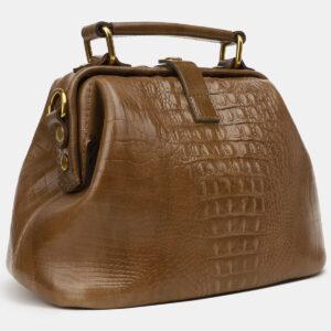 Стильная желтовато-зелёная женская сумка ATS-5451 238050