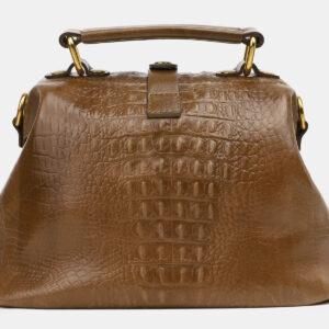 Стильная желтовато-зелёная женская сумка ATS-5451 238051