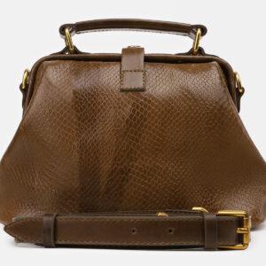 Стильная желтовато-зелёная женская сумка ATS-5463