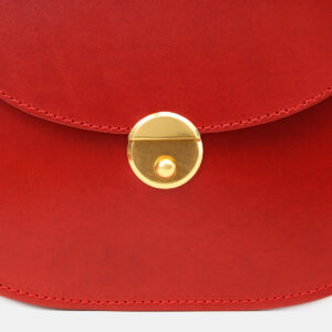 Удобный красный женский клатч ATS-5455 237999