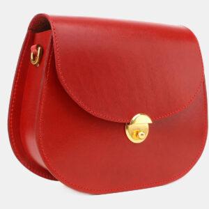 Удобный красный женский клатч ATS-5455 237995