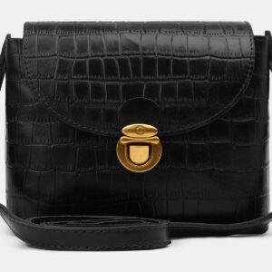 Уникальный черный женский клатч ATS-5462