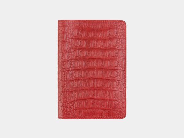 Уникальная красная обложка для паспорта ATS-1624