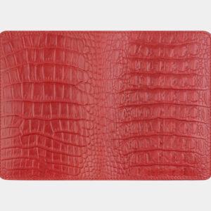 Уникальная красная обложка для паспорта ATS-1624 238108