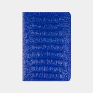 Деловая голубовато-синяя обложка для паспорта ATS-2204