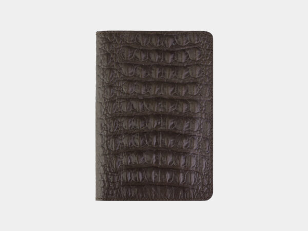 Солидная коричневая обложка для паспорта ATS-2210