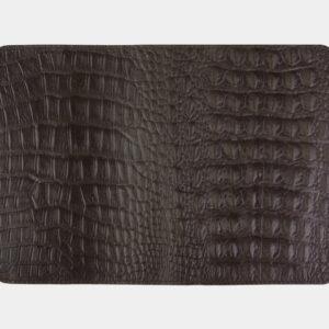 Солидная коричневая обложка для паспорта ATS-2210 238091