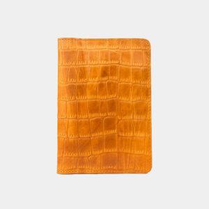 Деловая оранжевая обложка для паспорта ATS-3260