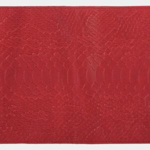 Деловая красная обложка для паспорта ATS-1695 238104
