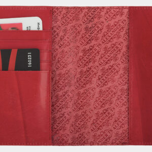 Деловая красная обложка для паспорта ATS-1695 238103