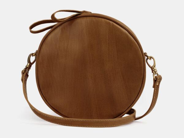 Деловая светло-коричневая женская сумка ATS-5507