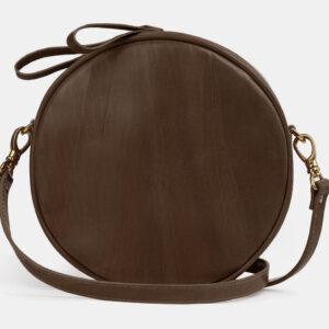 Солидная желтовато-зелёная женская сумка ATS-5510
