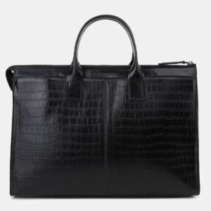 Модный черный мужской портфель ATS-5492