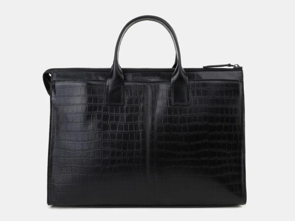 Функциональный черный мужской портфель ATS-5492