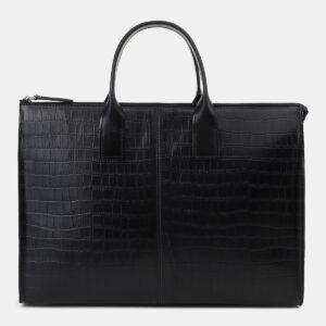 Функциональный черный мужской портфель ATS-5492 238159