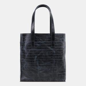 Деловая синяя женская сумка-шоппер ATS-5503
