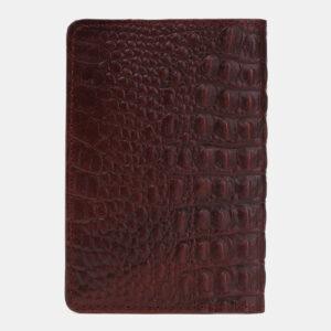 Уникальная бордовая обложка для паспорта ATS-5498 238134