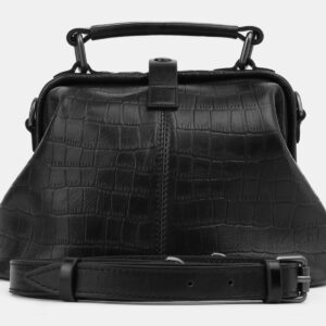 Функциональная черная женская сумка ATS-5509